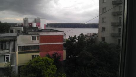 Poza de la geam