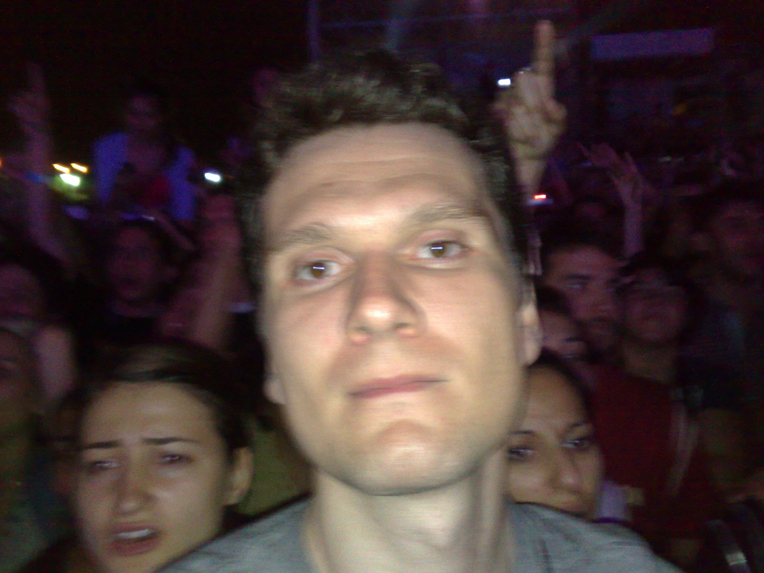 Eu la Aerosmith 18.06.2010